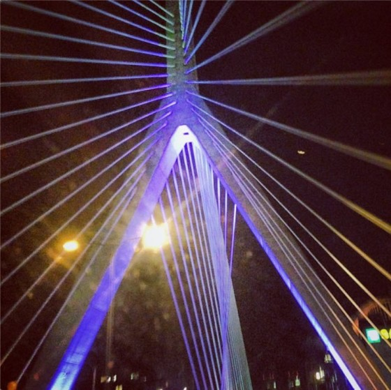 Boston, Massachusetts - Leonard P. Zakim Bunker Hill Memorial Bridge