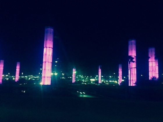 LAX - Los Angeles International Airport (pylons)