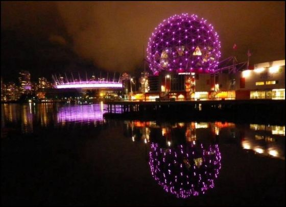 Vancouver, BC - Science World and BC Place